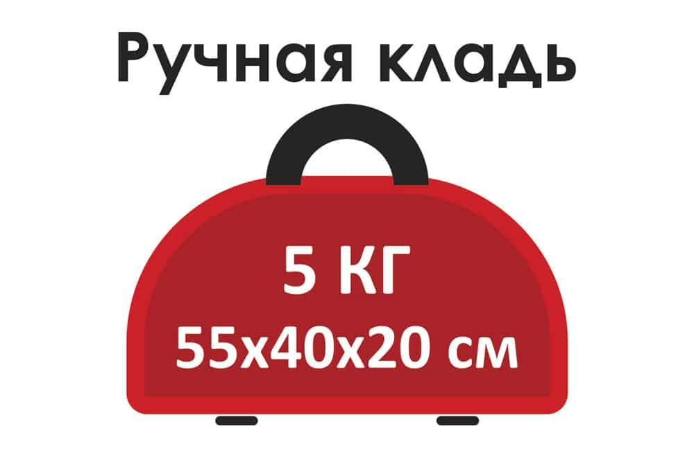 Ручная кладь на Уральских Авиалиниях