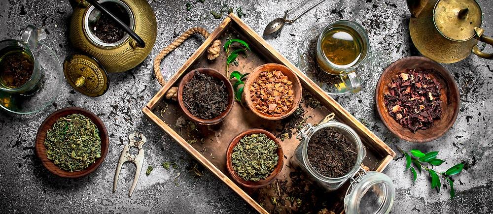 Чай и аксессуары для чайной церемонии