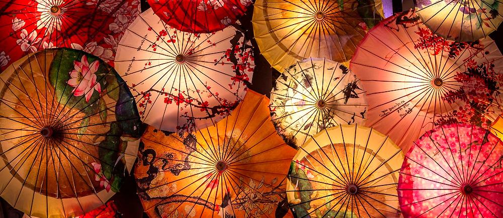 Декоративные зонты