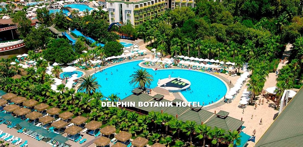 Отель DELPHIN BOTANIK HOTEL 5*