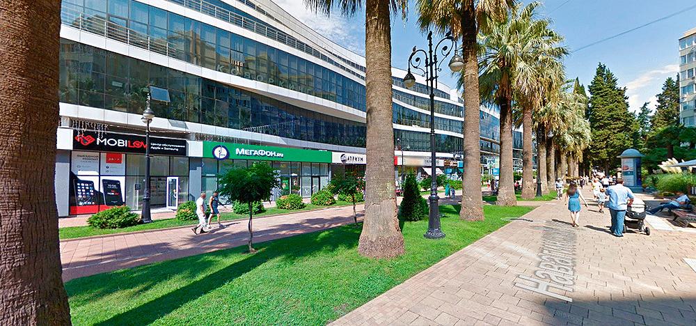 Навагинская улица в Сочи