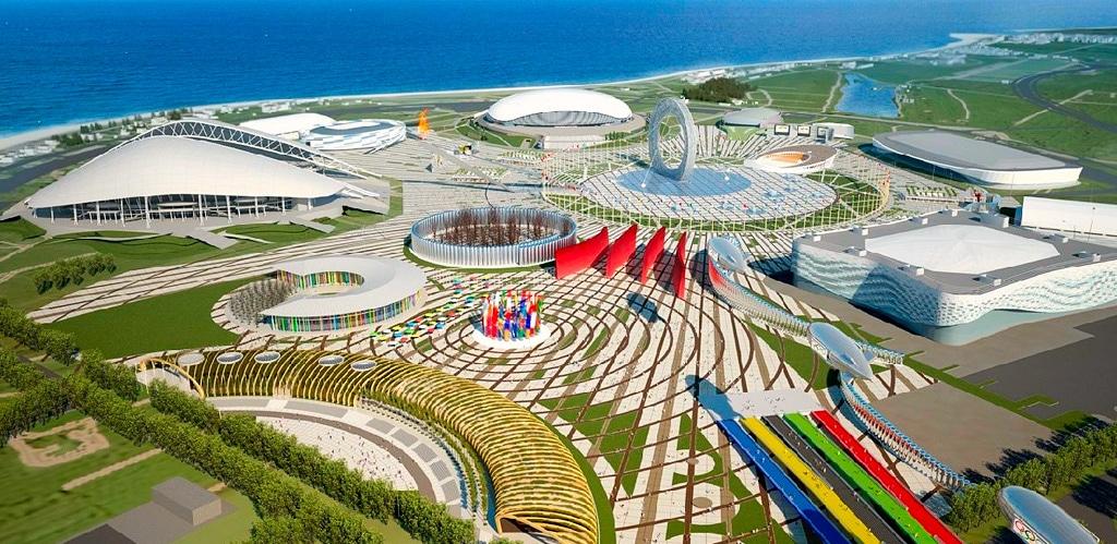 Олимпийский парк г. Сочи
