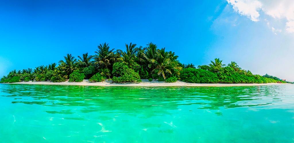 Мальдивский остров Тодду